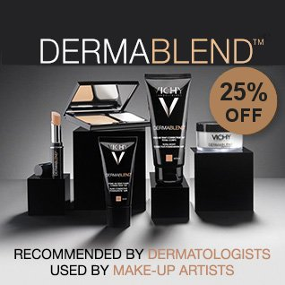 25% off ALL Dermablend Makeup