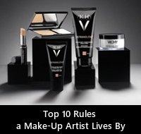 Dermablend Top 10 Makeup Rules